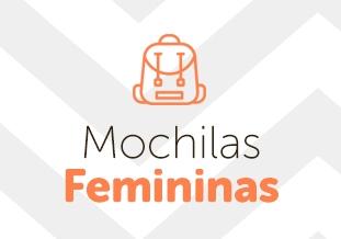 Mochilas femininas