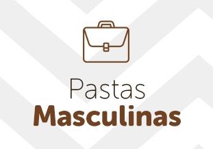 Pastas masculinas de couro