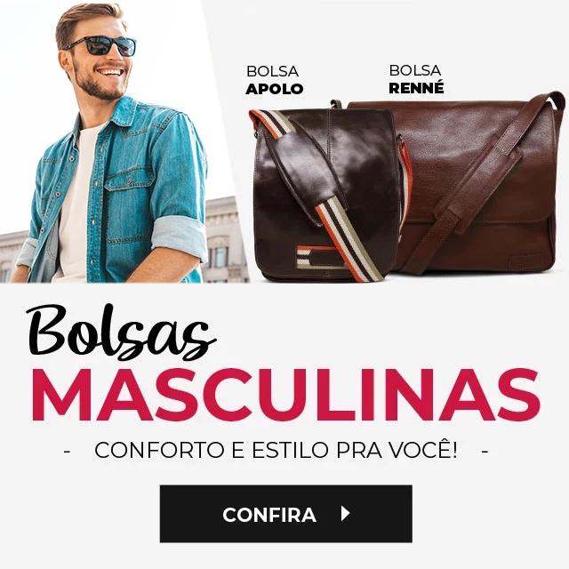 Bolsas masculinas
