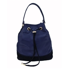 Bolsa 3 em 1 de Couro Marcela – Azul