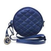 Produto Bolsa a Tiracolo de Couro Bia - Azul
