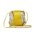 Bolsa a Tiracolo de Couro Laila Amarelo - Coleção Cores da Primavera