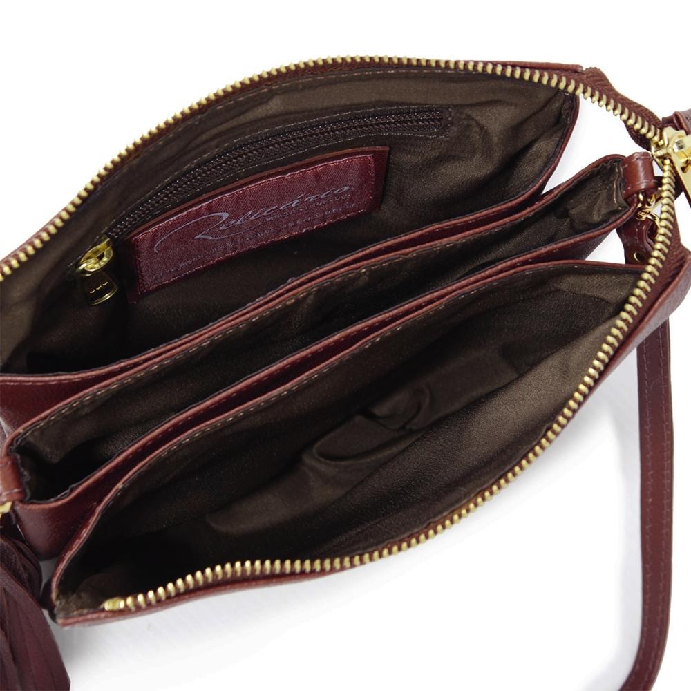 c13f9df85 Bolsa a tiracolo feminina de couro Mari Pinhão | Bolsas Relicário