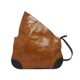 Bolsa Carteiro de Couro Jennie – Caramelo