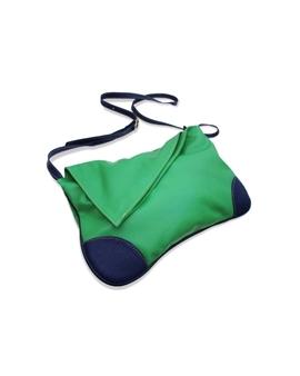Bolsa Carteiro de Couro Jennie – Verde