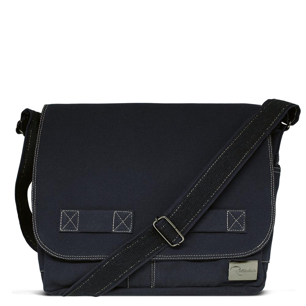279a8004e Bolsa carteiro de lona Jack Azul Marinho | Bolsas masculinas