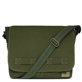 Bolsa Carteiro de Lona Jack – Verde