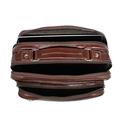 Bolsa Compacta de Couro Sandiego – Pinhão
