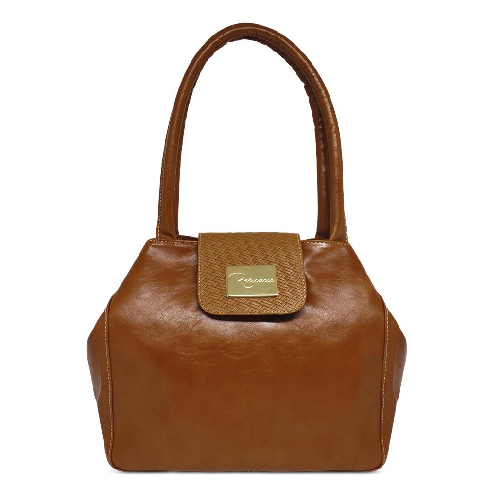 1db23dd438 Bolsa de Couro Camila - Caramelo
