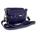 Bolsa de Couro Dorothy – Azul