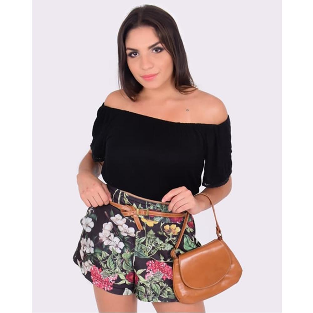 Bolsa de Couro Paula - Caramelo
