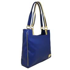 Bolsa de Couro Rose - Azul