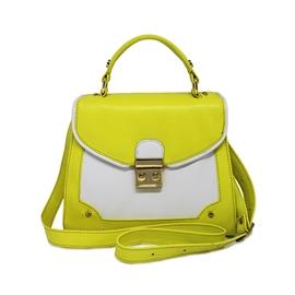 Bolsa Feminina De Couro Lola - Amarelo