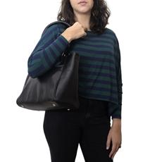 Bolsa Feminina de Couro Luana – Preta