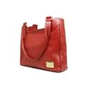Bolsa Feminina de Couro Rose - Vermelha