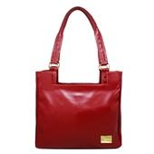 Produto Bolsa Feminina de Couro Rose - Vermelha
