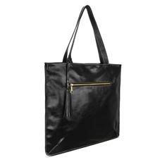 Bolsa Saco de Couro Joana – Preta