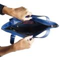 Bolsa Saco de Couro Joana - Azul