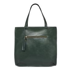 Bolsa Saco de Couro Joana Verde