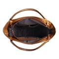Bolsa Saco de Couro Squares – Caramelo