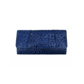 Carteira de Couro Margô – Azul