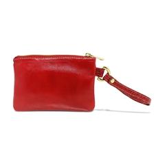 Clutch de Couro Liza - Vermelha