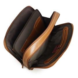 Pasta para Notebook Feminina de Couro Magno - Caramelo