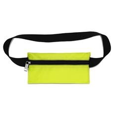 Pochete Slim de Nylon Emborrachado Olinda - Amarelo Neon