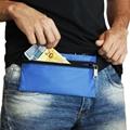 Pochete Slim de Nylon Emborrachado Olinda - Azul