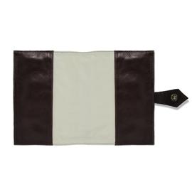 Porta Agenda de Couro - Chocolate/Pinhão