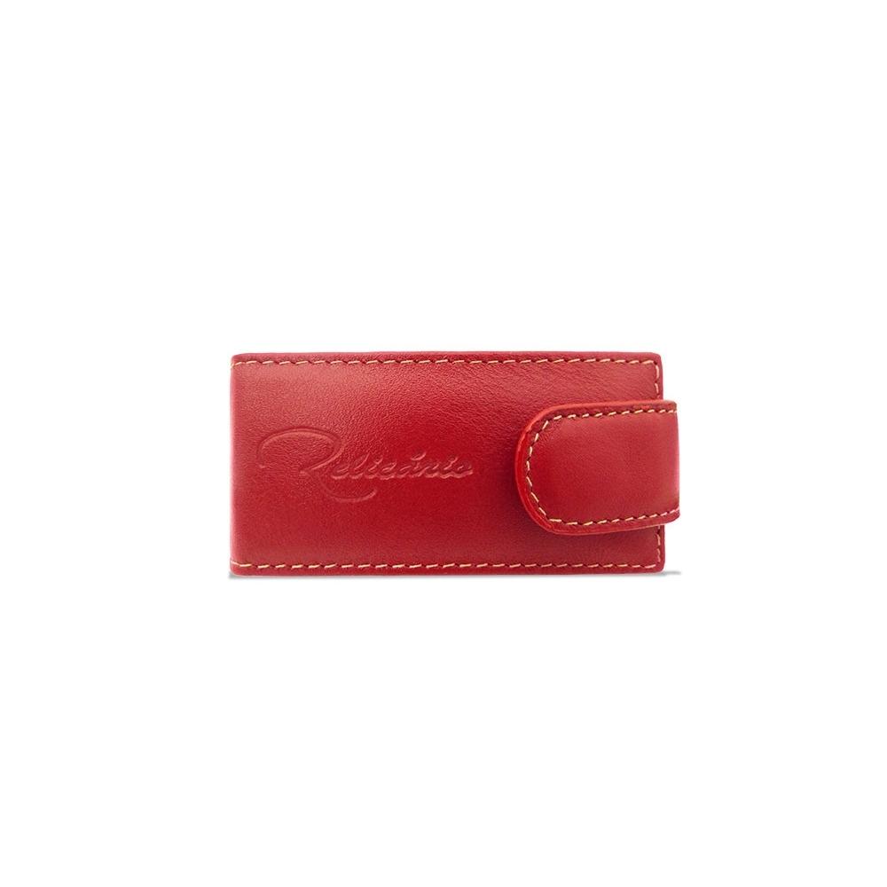 Porta Batom de Couro Penélope – Vermelho