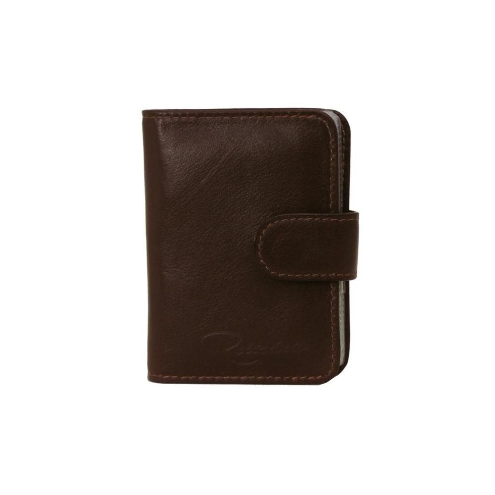 6a42537786 Porta-cartão de Couro Cardnote - Marrom Café   Relicário Bolsas e Pastas