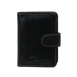 Porta-cartões de Couro CardNote – Preto