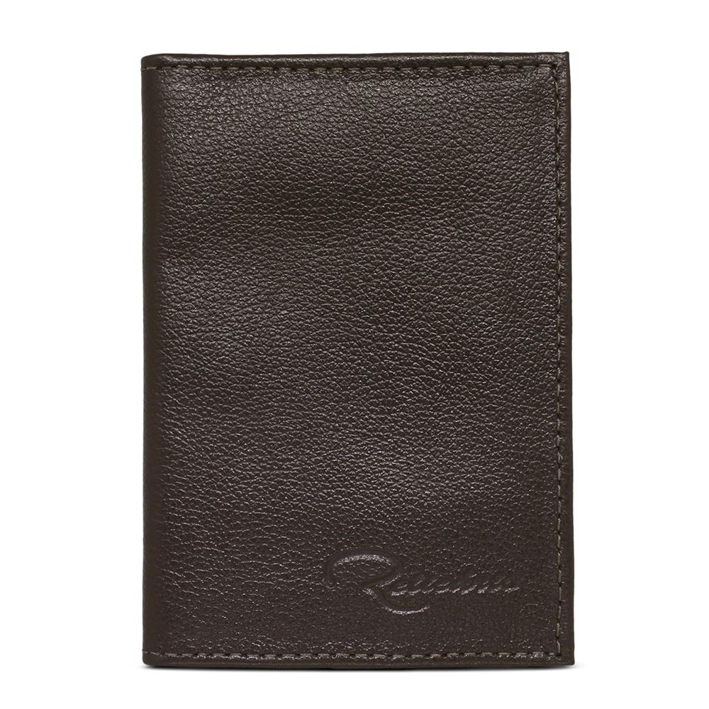 Porta Documento de Couro Cadillac – Marrom Café