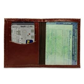Porta Documento de Couro Cadillac – Pinhão