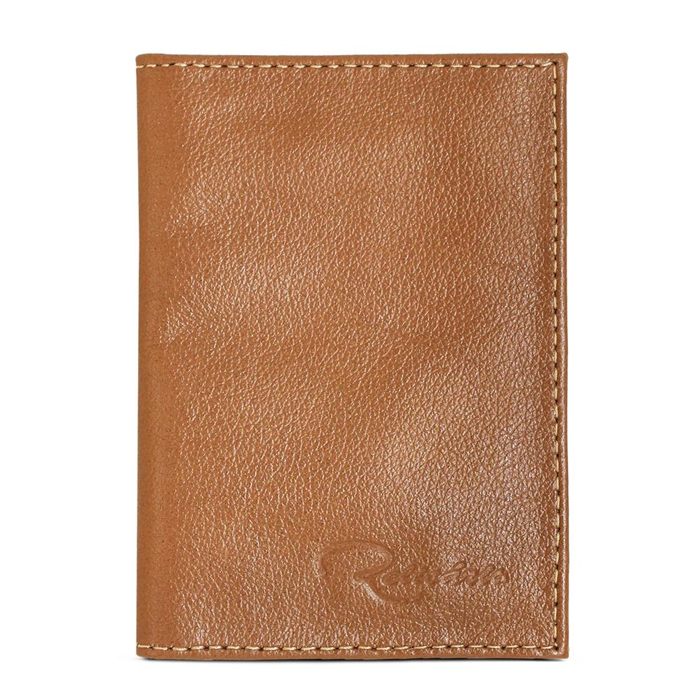 Porta Documento de Couro Cadillac - Caramelo