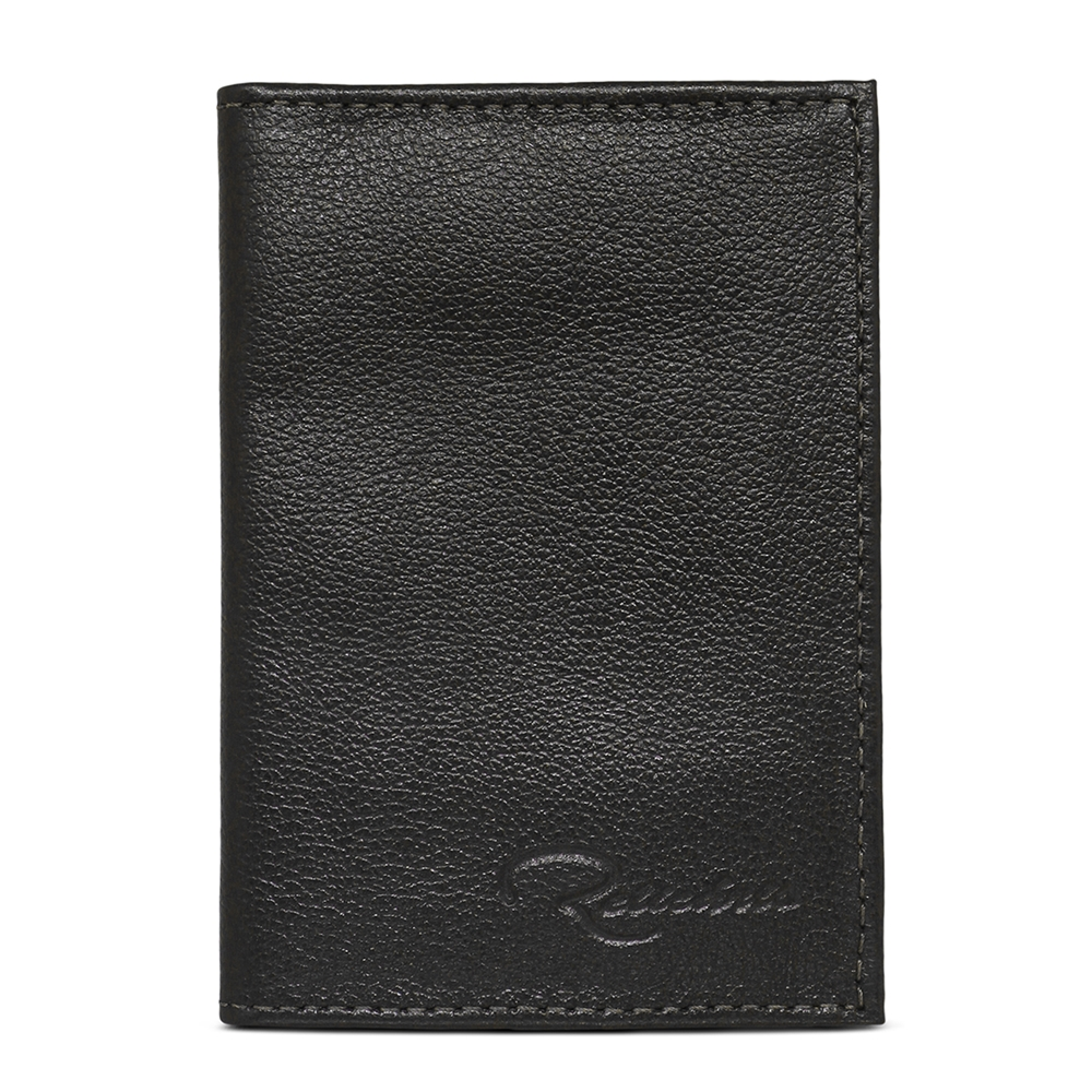 Porta Documento de Couro Cadillac - Preto