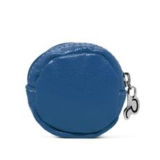 Porta Moedas de Couro Dime - Azul