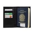 Porta Passaporte Traveller - Preto